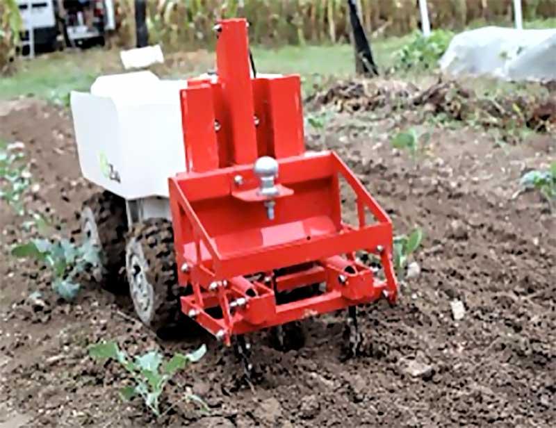 Robot Oz agriculture biologique de précision