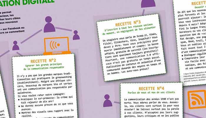 image 5 recettes pour rater sa communication digitale