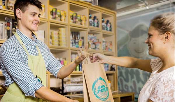Emma Enkel l'épicerie de quartier digitalisée (Allemagne).