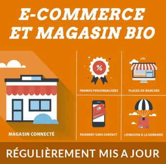 Annonce dossier e-commerce et magasin bio