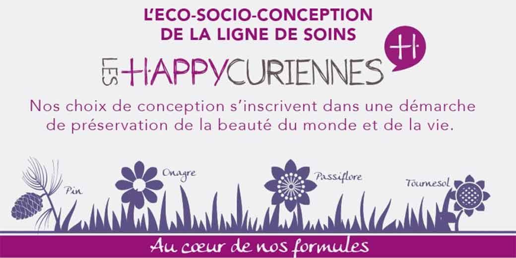 Economie circulaire: éco-socio-conception cosmétiques avec Les Happycuriennes