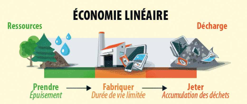 L'économie linéaire : grande pourvoyeuse de déchet